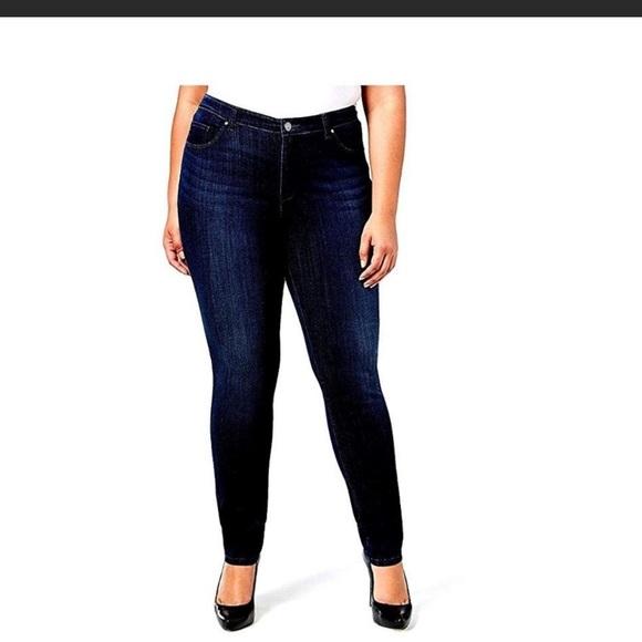 83f25bfd225 1826 Women Plus Size StretchBlue Black Denim Jeans. NWT. Jack David